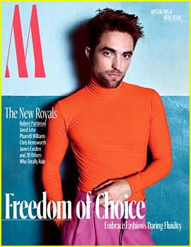 Robert Pattinson Wears Skin Tight Turtleneck for 'W' Magazine