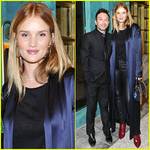 Rosie Huntington-Whiteley Celebrates Compartes Chocolatier's New Flagship Store!
