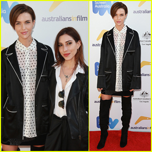 Ruby Rose & Girlfriend Jessica Origliasso Attend the Australian Emmy Nominee Reception