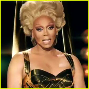 RuPaul Portrays Emmy Awards Statue in Funny Video Interview - Watch Now!