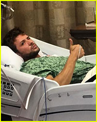 Here's How Ryan Phillippe Injured His Leg