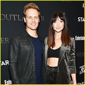 Sam Heughan & Caitriona Balfe Attend 'Outlander' Premiere in New York City!