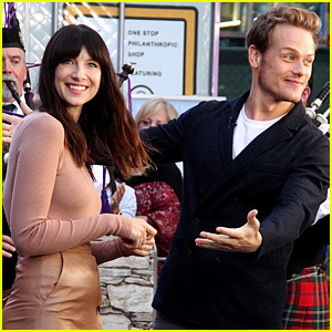 Outlander's Caitriona Balfe Predicts Jamie & Claire Will Reunite