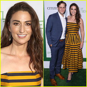 Sara Bareilles & Boyfriend Joe Tippett Attend 'Battle of the Sexes' Premiere!