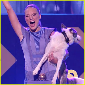 Sara Carson & Her Dogs Perform Fun Tricks for 'America's Got Talent' Finals (Video)