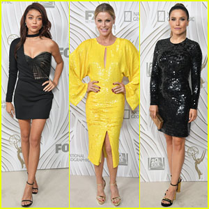 Sarah Hyland & Julie Bowen Switch It Up for Fox Emmys After Party 2017!