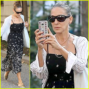 Sarah Jessica Parker Records New York City Morning: 'It's So Pretty'