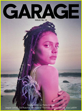 Rising Star Sasha Lane Poses By the Beach for 'Garage' Mag