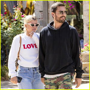 Scott Disick & Sofia Richie Step Out for Lunch in Calabasas