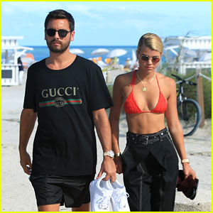 Scott Disick & Sofia Richie Hit the Beach Together in Miami!