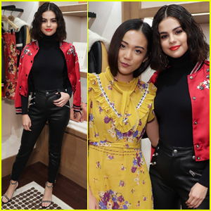 Selena Gomez Spreads Message of Love After Coach Event