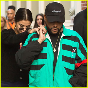 Selena Gomez & The Weeknd Hold Hands During Shopping Trip In NYC