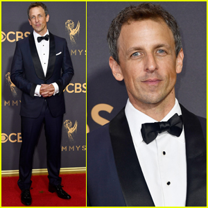 Seth Meyers Has Marbles in His Mouth at the Emmys 2017!