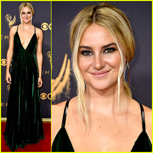 Shailene Woodley Goes So Chic for Emmys 2017 Red Carpet!