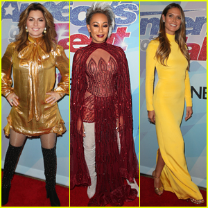 Shania Twain Joins Mel B & Heidi Klum at 'America's Got Talent' Finale