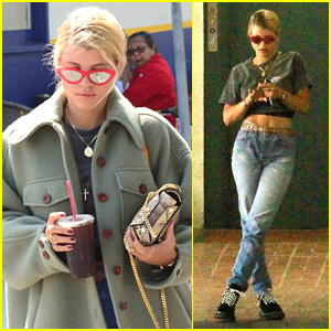 Sofia Richie Flaunts Her Abs During Solo Outing in Beverly Hills
