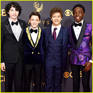 'Stranger Things' Kids Suit Up for Emmys 2017!