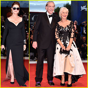 Susan Sarandon, Helen Mirren & Donald Sutherland Premiere 'Leisure Seeker' at Venice Film Festival
