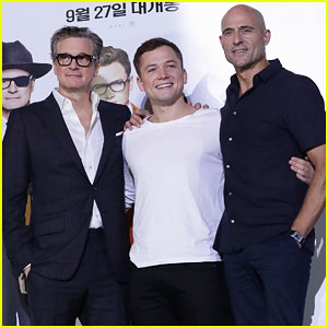 Taron Egerton Defends 'Kingsman: The Golden Circle's Controversial Scene with Poppy Delevingne!