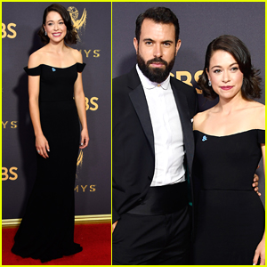 Tatiana Maslany & Longtime Love Tom Cullen Couple Up for Emmys 2017