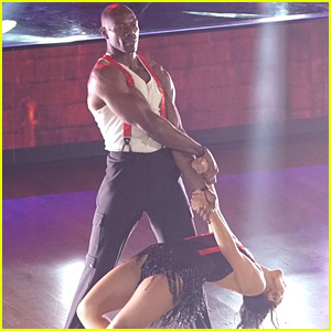 Terrell Owens Gets It 'Hot in Herre' for 'DWTS' Latin Night (Video)