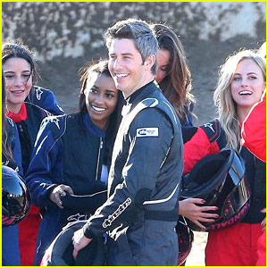Arie Luyendyk Jr. Films 'The Bachelor' with His Contestants (Photos)