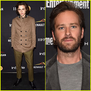 Armie Hammer & Timothée Chalamet Keep Busy at Toronto Film Festival!