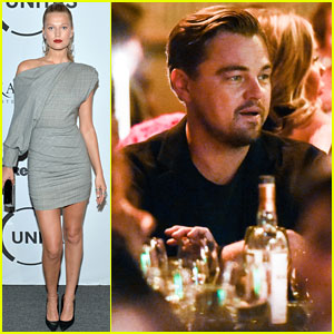 Leonardo DiCaprio & Ex Toni Garrn Reunite After Holding Hands in NYC