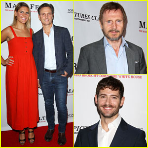 Tony Goldwyn & Daughter Anna Join Liam Neeson at 'Mark Felt' Premiere - Watch Trailer!