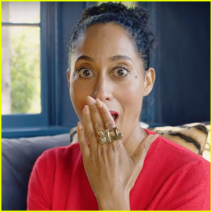 Tracee Ellis Ross' Ideal Love Scene Would Be a Three Way with Rihanna & James Dean - Watch Now!