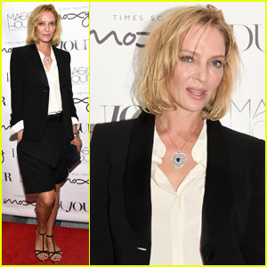 Uma Thurman 'Couldn't Possibly Be More Excited' for Broadway Debut in 'The Parisian Woman'!