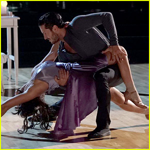 Victoria Arlen Dances on Her Birthday for 'DWTS' Latin Night! (Video)