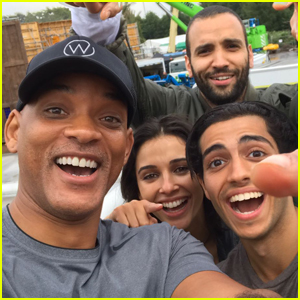 Will Smith & Mena Massoud Share First Photo of 'Aladdin' Cast!