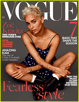 Zoe Kravitz on Living in Trump's America: 'It's Beyond Farcical'