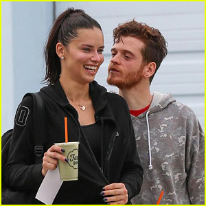 Adriana Lima Packs on the PDA with Boyfriend Metin Hara!