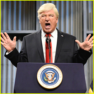 Alec Baldwin Returns as Trump to Respond to Eminem's Rap on 'SNL' - Watch!