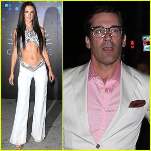 Alessandra Ambrosio Flaunts Her Toned Abs at Casamigos Halloween Party!