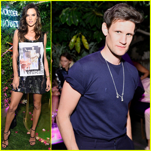 Alessandra Ambrosio, Matt Smith & More Celebrate Garden of Wonder by Perrier-Jouët!