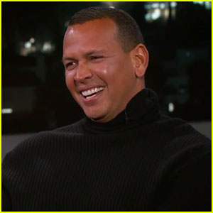 Alex Rodriguez Tells Jimmy Kimmel His Daughters Think He's A Hero Now That' He's Dating Jennifer Lopez!