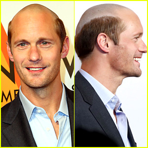 Alexander Skarsgard Debuts New Bald Head See Photos