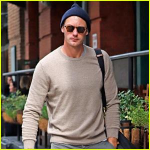 Alexander Skarsgard Is Embracing Sweater Weather in NYC!