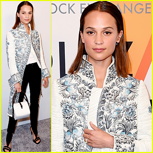 Alicia Vikander Wears Her Wedding Ring for First Official Appearance as a Newlywed!