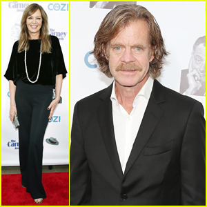 Allison Janney & William H. Macy Celebrate Character Actors at Carney Awards 2017!