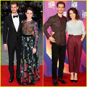 Andrew Garfield & Claire Foy Open BFI London Film Fest with 'Breathe' Premiere!