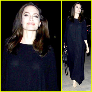 Angelina Jolie Attends 'First They Killed My Father' Screening in Long Beach!