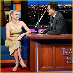 Anna Faris Gives Stephen Colbert The Relationship Quiz on 'The Late Show' - Watch Here!