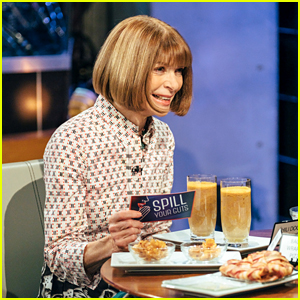 Anna Wintour Plays Gross Game of Spill Your Guts or Fill Your Guts With James Corden - Watch!