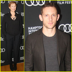 Annette Bening & Jamie Bell Buddy Up at Hamptons Film Fest for 'Film Stars Don't Die In Liverpool' - Watch Trailer!