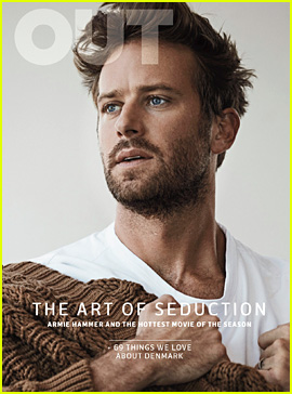 Armie Hammer Covers 'Out' Magazine, Talks About Starring in 'Call Me By Your Name'