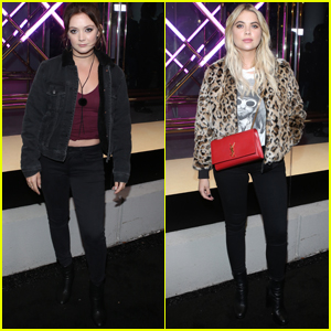 Billie Lourd & Ashley Benson Celebrate American Eagle Outfitter's Anniversary!